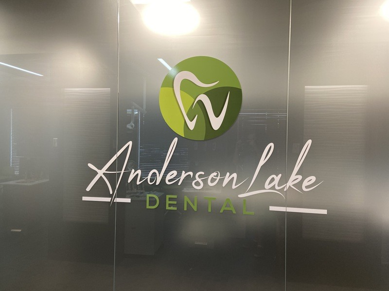 vinyl graphics for privacy office Minneapolis