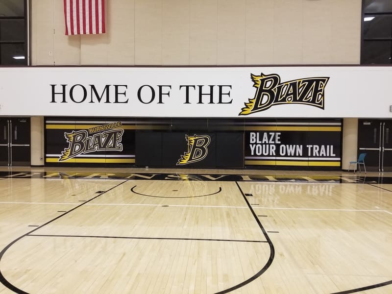 wall graphics for schools King Signs Minneapolis
