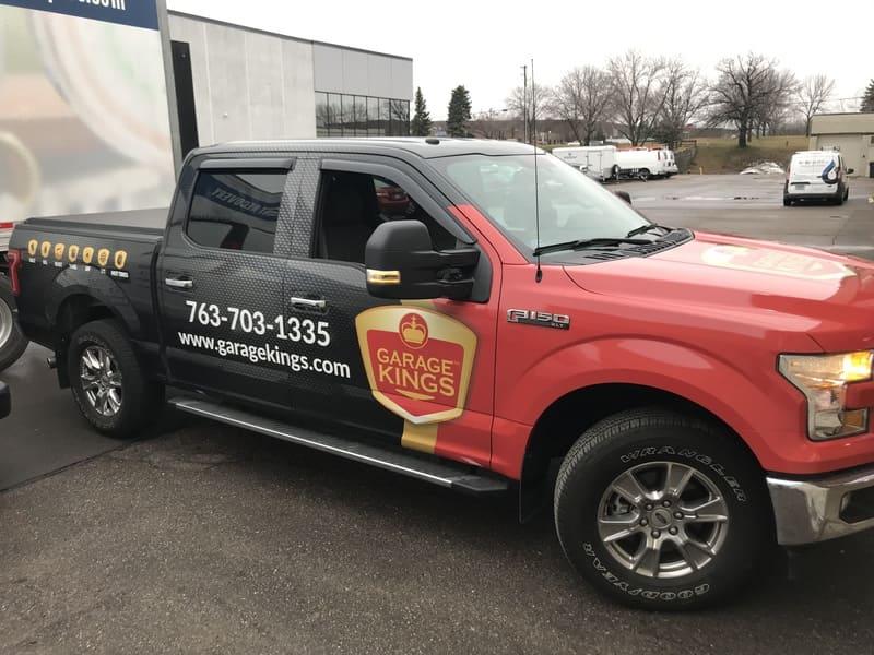 top vehicle wraps Minneapolis King Signs