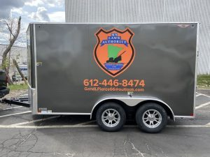 best trailer and truck wraps Minneapolis