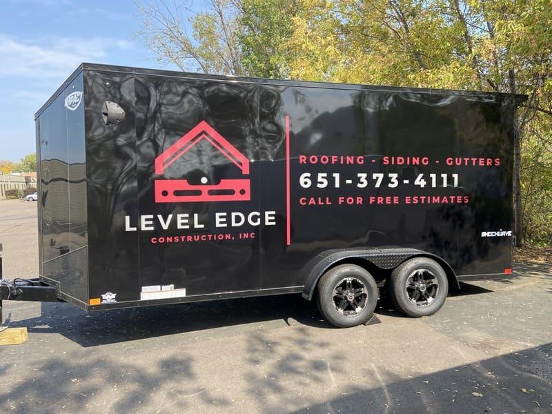 Premium durable trailer wraps Minneapolis King Signs