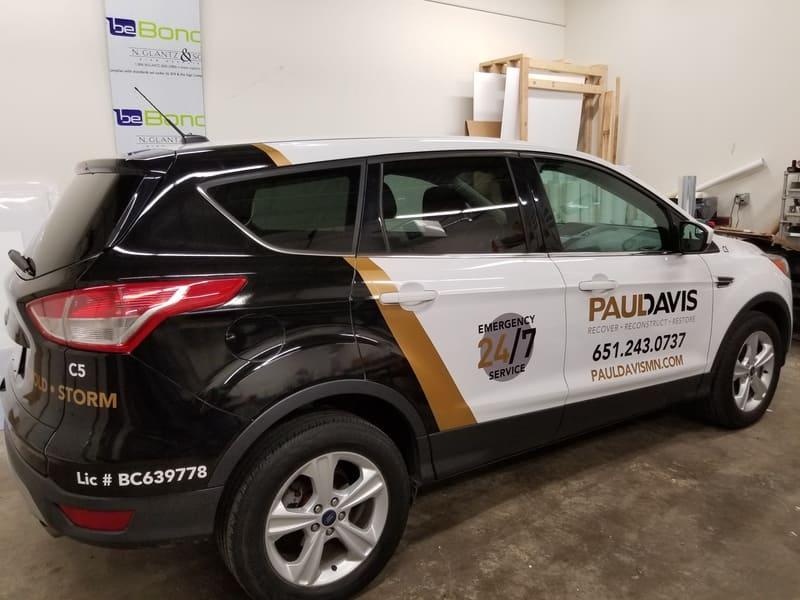 premium vehicle wraps Minneapolis King Signs