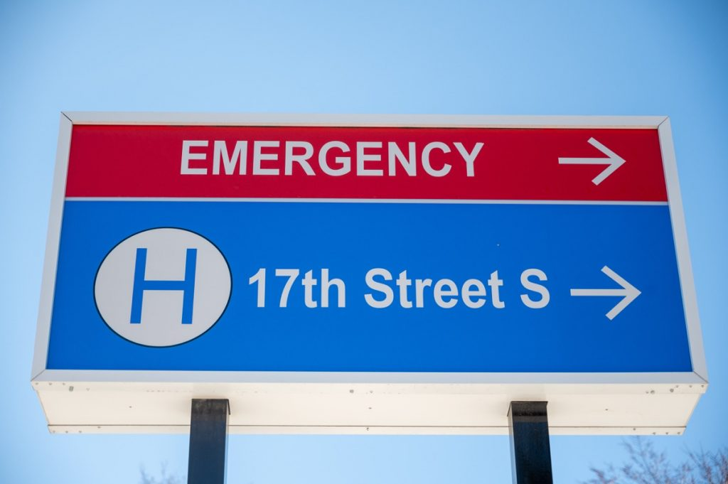High-quality hospital signage by King Signs Minneapolis